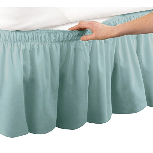 Elastic Around Bedskirt Machine Washable