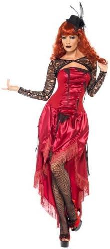 Smiffys - Disfraz de cabaret para mujer, talla L (38871L): Amazon ...
