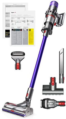 Dyson V11 Animal Cord-Free Vacuum Cleaner with Manufacturer s Warranty – Includes Mini Motorized Tool Combination Tool Crevice Tool and Stiff Bristle Brush