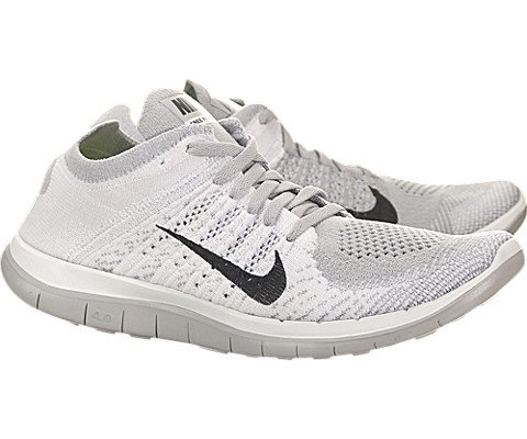 newest 6b8ec 7bcaa Nike Women s Free Flyknit 4.0 - White   Black-Pure Platinum-Wolf Grey, 8.5  B US - Buy Online in Oman.   Shoes Products in Oman - See Prices, ...