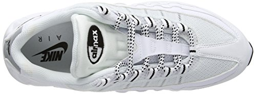 Black de Running Zapatillas Negro Nike 95 White Hombre MAX Air Blanco black wqInOvFX