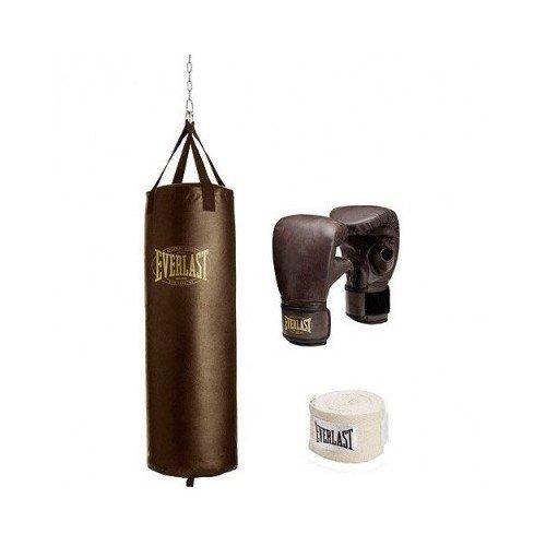 Everlast 70-lb Vintage Heavy Bag Kit by Everlast