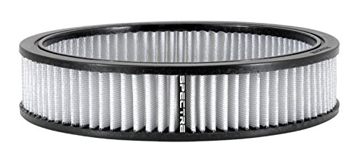 Spectre Performance 48059 Air Filter 9 X 2 Cotton Fiber White