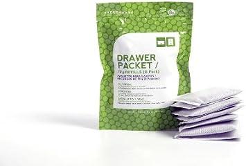 Drawer Deodorizer /& Dresser Odor Eliminator Moisture Absorber Packs for Clothing Protection 5pk