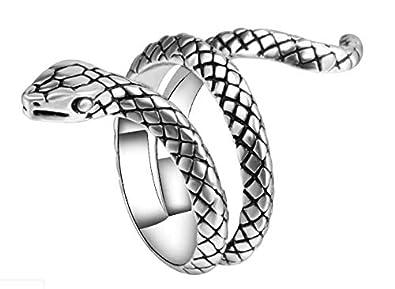 e8281da5fe8c Anillo de Plata ley 925 sortija para mujeres joyería de serpiente de lujo  argollas boda matrimonio