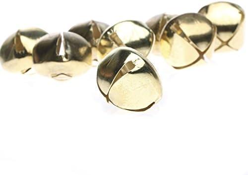 6 SILVER Metal Bells Cat Jingle Bells Xmas Crafts Choose Size 10mm To 20mm