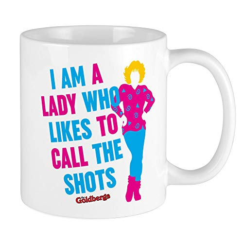 - CafePress Beverly Goldberg Call The Shots Mugs Unique Coffee Mug, Coffee Cup