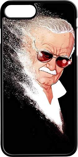 iPhone 6 Plus Case,Stan Lee Case for Apple iPhone 6 Plus,Excelsior Stan Lee TPU Phone Case(Black)