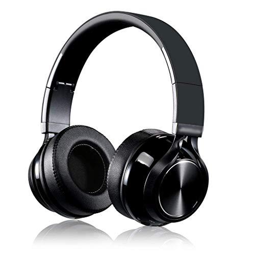 KLSDZSP Outdoor Waterproof Headset Bluetooth Headset Foldable Music Microphone Headset Wireless Game Bluetooth Headset