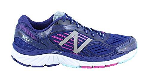 New Balance W860 B V4 Damen Laufschuhe Purple/Lightblu/Pink