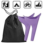 Travel-Lightweight-Female-Urination-Device-Women-Portable-Urinal-Funnel-Camping-Hygiene-Sanitation-Perfect-Camping-Traveling-Climbing-Festivals-Outdoor-Activities2-pack-with-free-bag