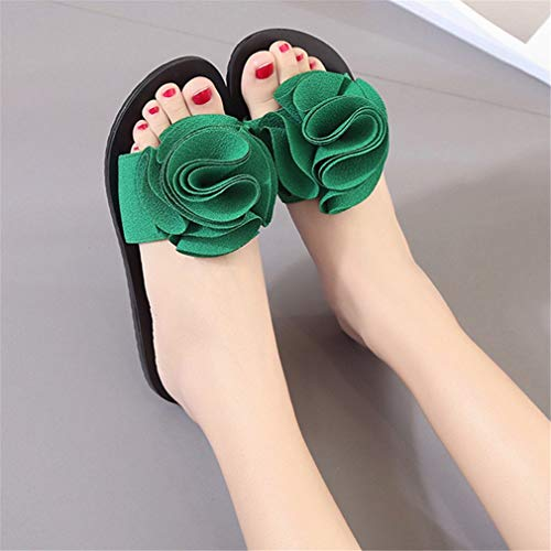 Sandales Et Green Femme Chaussons YUCH Confortables BwtYOtq