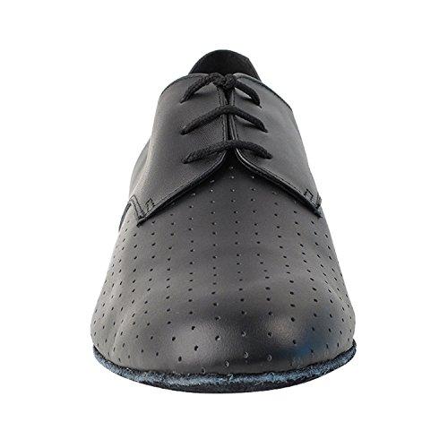 """50 Shades Of Men Standard 1 """"Heel Dance Kleid Schuhe Sammlung (Breite Breite verfügbar): Komfort Ballsaal, Standard, glatt, Latein, Salsa, Kunst von Party Party 916103 Schwarz perforiert"""