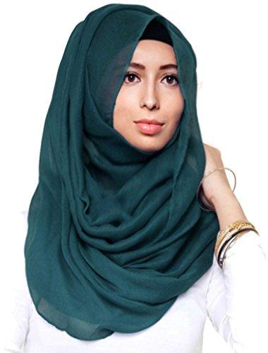 Hanas Womens Plain Viscose Hijab product image