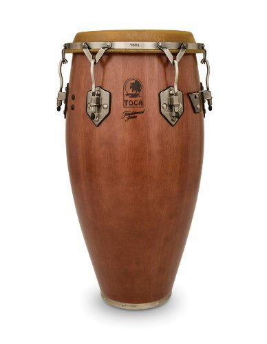 Toca 3912-1/2D Traditional Series Tumba - Dark Wood Finish by Toca