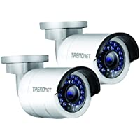 TRENDnet - TV-IP320PI2K - TRENDnet TV-IP320PI2K 1.3 Megapixel Network Camera - 2 Pack - Color - Board Mount - 1280 x 960 - CMOS - Cable - Fast Ethernet