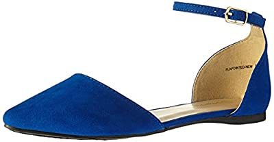 DREAM PAIRS Women's Flapointed-New Pump