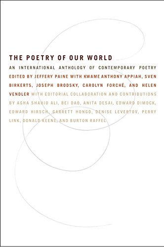 'The Poetry of Our World: An International Anthology of Contemporary Poetry'