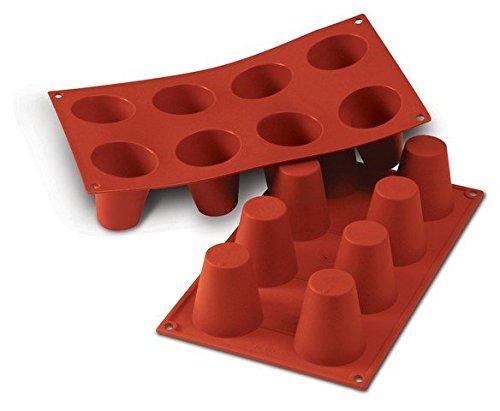 Professional Silikomart Uniflex Big Baba Silicone Mold Baking Pan (Uniflex Collection)