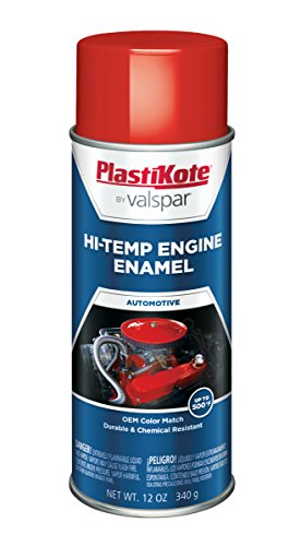 (PlastiKote 209 Universal Red Engine Enamel, 12 oz.)