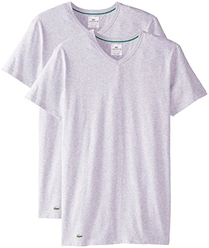 lacoste-mens-2-pack-colours-cotton-stretch-v-neck-t-shirt-grey-medium