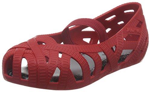 MINI MELISSA - Ballerine ajourée rouge, made in Brazil, réalisée avec la collaboration du célèbre styliste Jason Wu, Fille, Filles