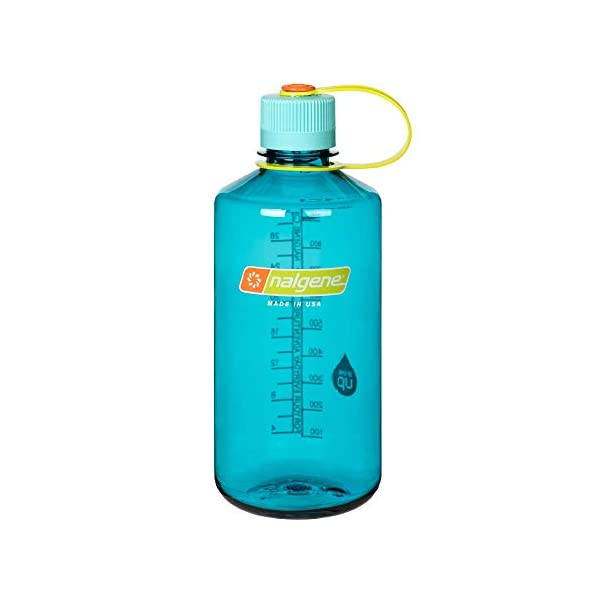 -New 32oz Nalgene Tritan Narrow Mouth BPA-Free Water Bottle