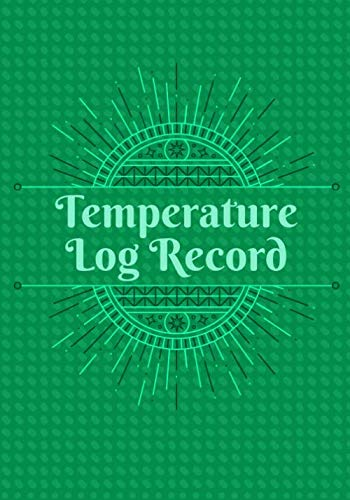 Temperature Log Record: Record Fridge/Freezer Temperatures, Used for Restaurants, Bars, Cuisine Outlets and More, Monitor Contents & Comply with ... Thanksgiving, Christmas, (Kitchen Supplies.)