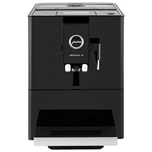 Jura A9 Automatic Coffee Machine, Black (Black (Certified Refurbished))