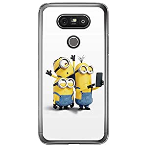 Loud Universe LG G5 Files Minion 17 Printed Transparent Edge Case - Multi Color