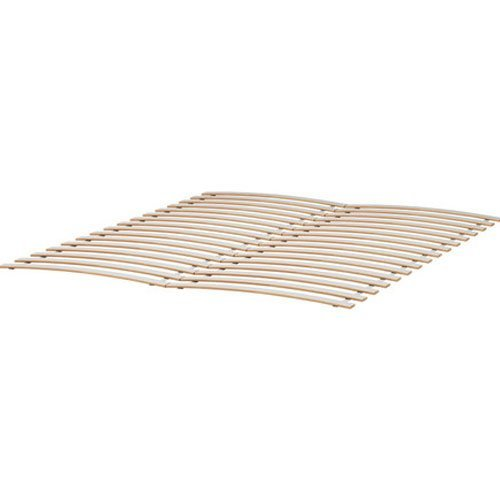 Ikea sultan luroy queen slatted bed base in the uae see for Bed base ikea