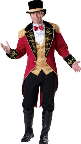 Lion Tamer Costume Male (Ringmaster Adult Costume -)