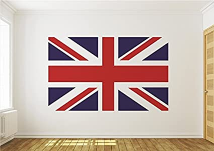 Union Jack British Flag Wallpaper Mural By Consalnet