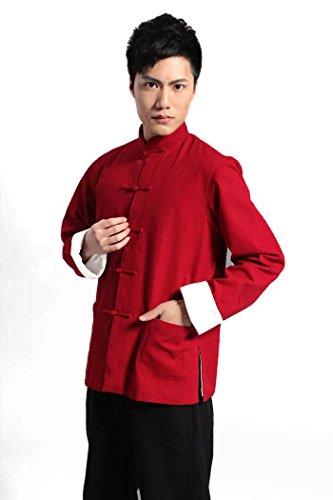 Spring & Fall Men Martial Arts Kungfu Taichi Jacket