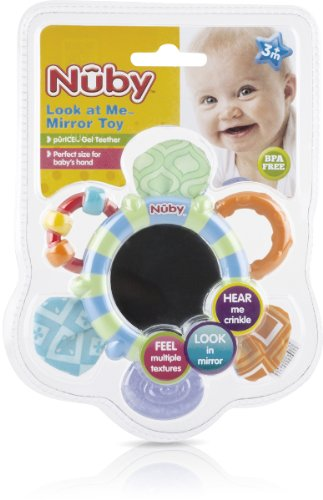 Flower Shaped Mirror Teether Case Pack 24