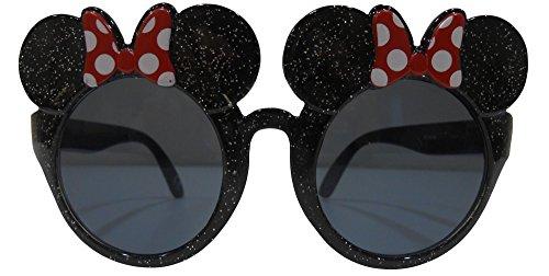 Disney Minnie Mouse Lunettes de soleil à paillettes 3D