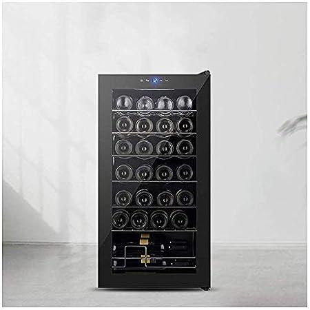 Refrigerador de Vino Multifuncional, gabinete de Vino termoeléctrico, refrigerador de gabinete de Cerveza de Vino Incorporado, con Control táctil Digital