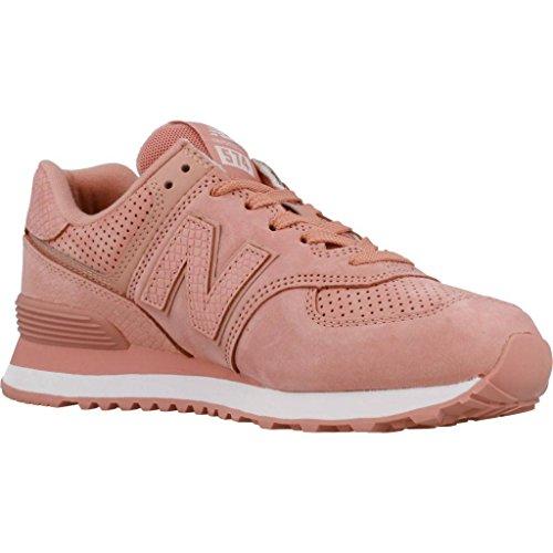 New Balance 574 Mujer Zapatillas Rosa Pink