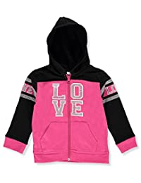 """Real Love Little Girls' """"Heart Stamped"""" Hoodie"""