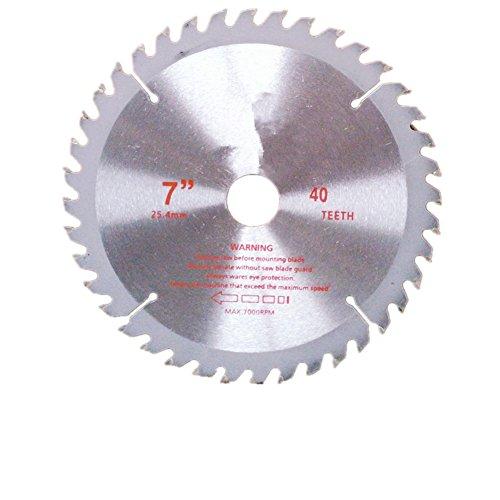 Ksmxos 7-Inch 40 Teeth Ferrous Wood Cutting Blade