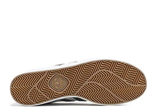 Scarpe Adidas Originali Mens Superstar Vulc Adv Bianco / Grigio-bianco