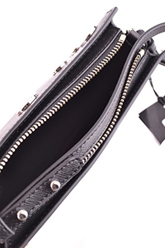 Versace Pochette Donna FBD1207FVSAF460N Pelle Nero