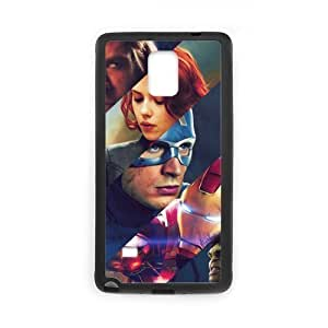 TOPPEST Avengers Super Hero TPU Rubber Hard Back Case Silicone Cover Skin for SamSung Galaxy note 5 , n4xq-432