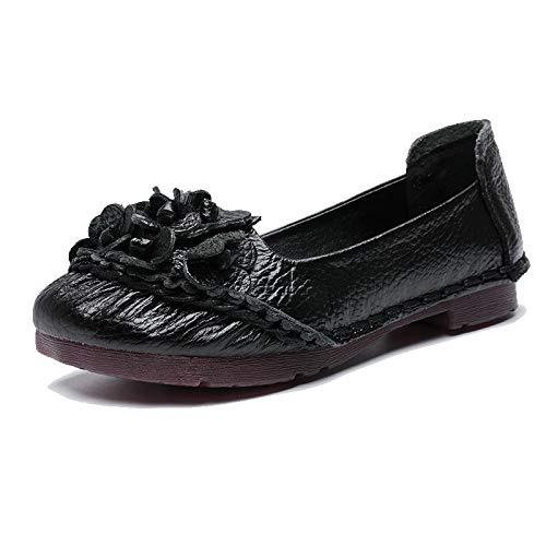 Taille Bleu EU 38 Noir ZHRUI Chaussures coloré wvqa4Z6