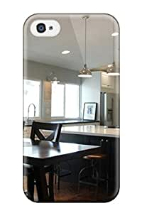 Iphone 4/4s IlxHZsm2526wQHav Lots Of Seating In Contemporary Kitchen With Island Tpu Silicone Gel Case Cover. Fits Iphone 4/4s
