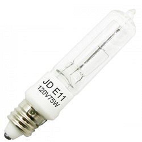 Jd E12 Led: 4 Pcs Of 75 Watt E11 Base Mini Candelabra Halogen Light