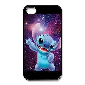 iphone4 4s Phone Case Black Disneys Lilo and Stitch ES3TY7832240