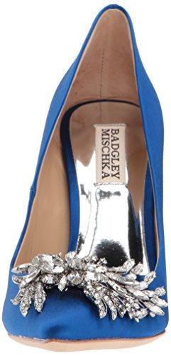 Badgley Mischka Womens Marcela Pump Sapphire