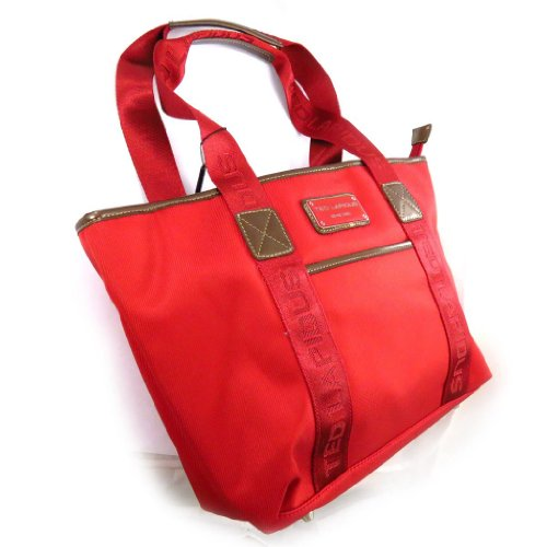 Shopping bag 'Ted Lapidus' rosso.