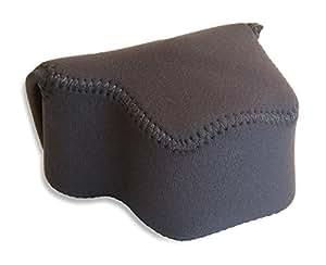 OP/TECH D Series Shortie - Bolsa blanda para cámara de fotos, color negro